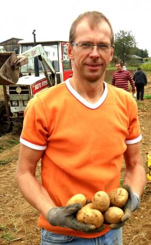 Kartoffel vom eigenen Acker